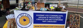 Participation au marché de Guéret le 19 & 20 décembre